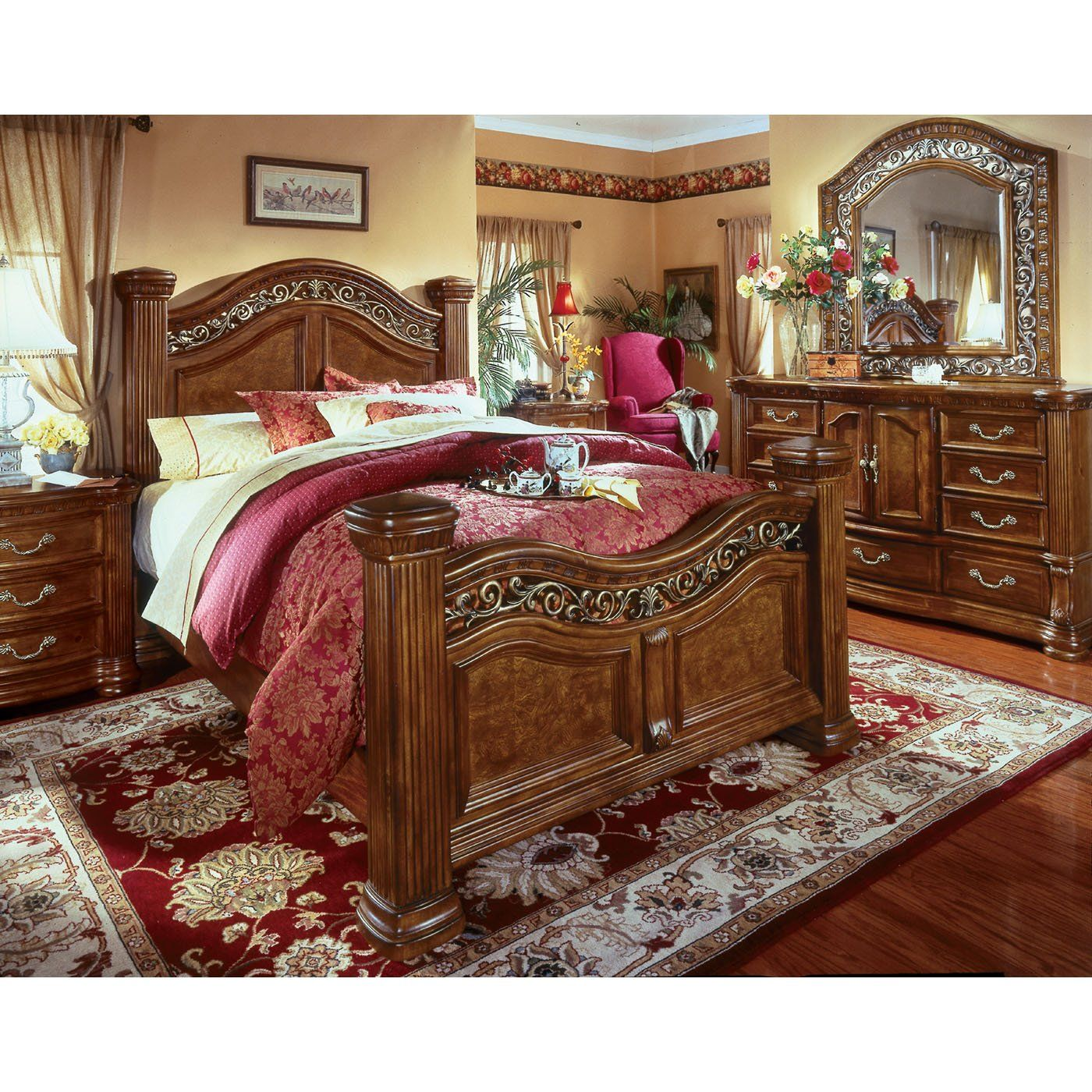 Bedroom Sets Erie Pa wynwood cordoba mansion bedroom set | master suite | pinterest