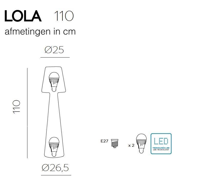 Newgarden Lola 110 Led Buitenverlichting Staande Lamp Wit Kunststof In 2020 Buitenverlichting Buitenlamp Lampen