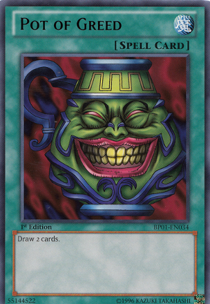 Pot Of Greed Yugioh Dragon Cards Yugioh Cards Yugioh