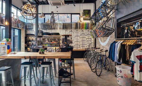 Factory Five Bike Shop Serves Bikes And Beer In Shanghai Factory