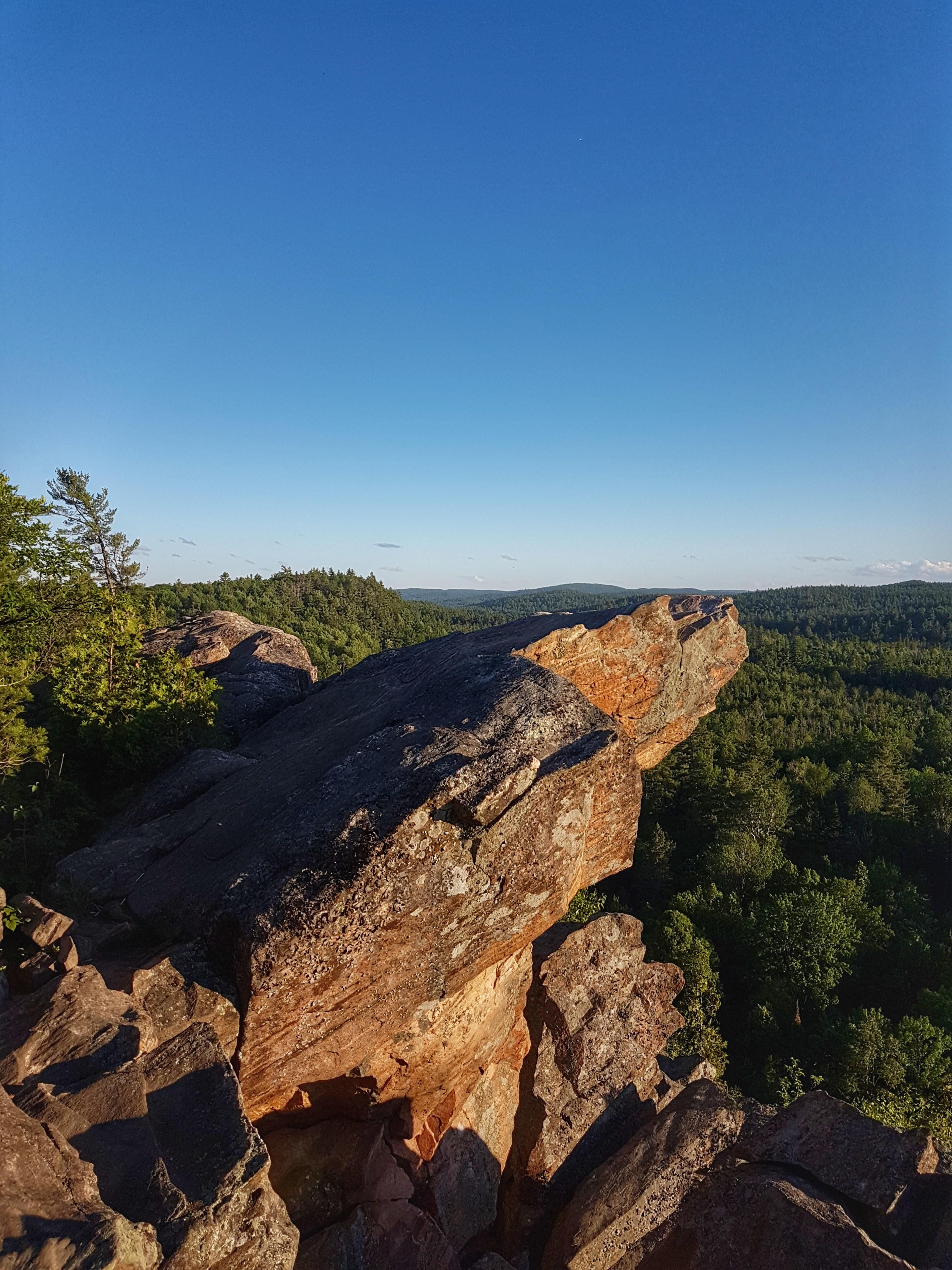 Eagles nest lookout point in calabogie ontario canada