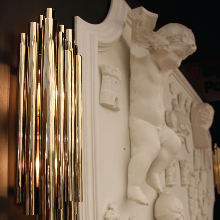 Brubeck Led Wall Sconce By DelightFULL Luxury And Art Deco