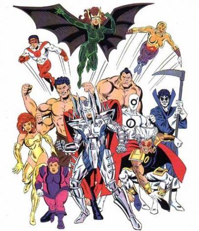 Mutant Liberation Front Marvel Villains Comics Mutant