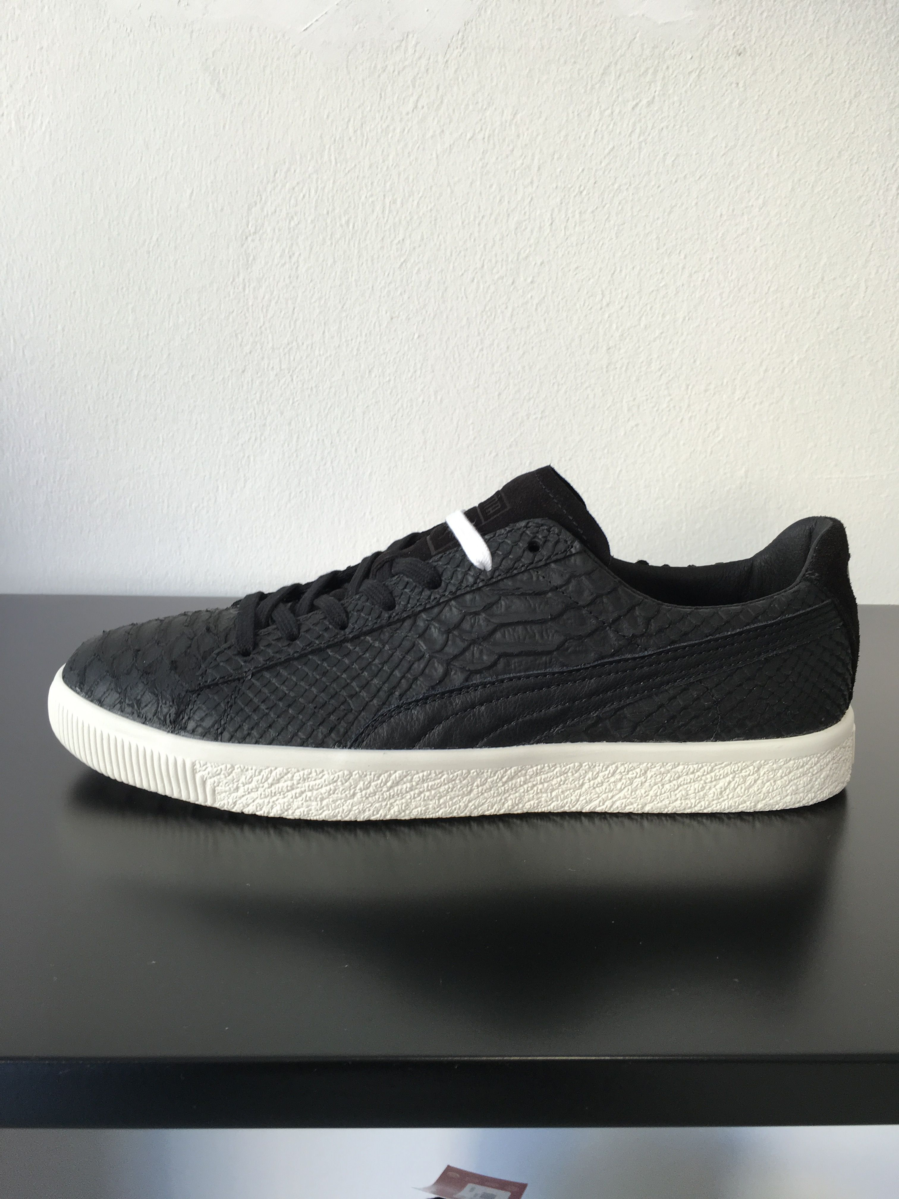 acheter pas cher db448 95c2b Puma clyde mii leather black | want list | Puma suede ...