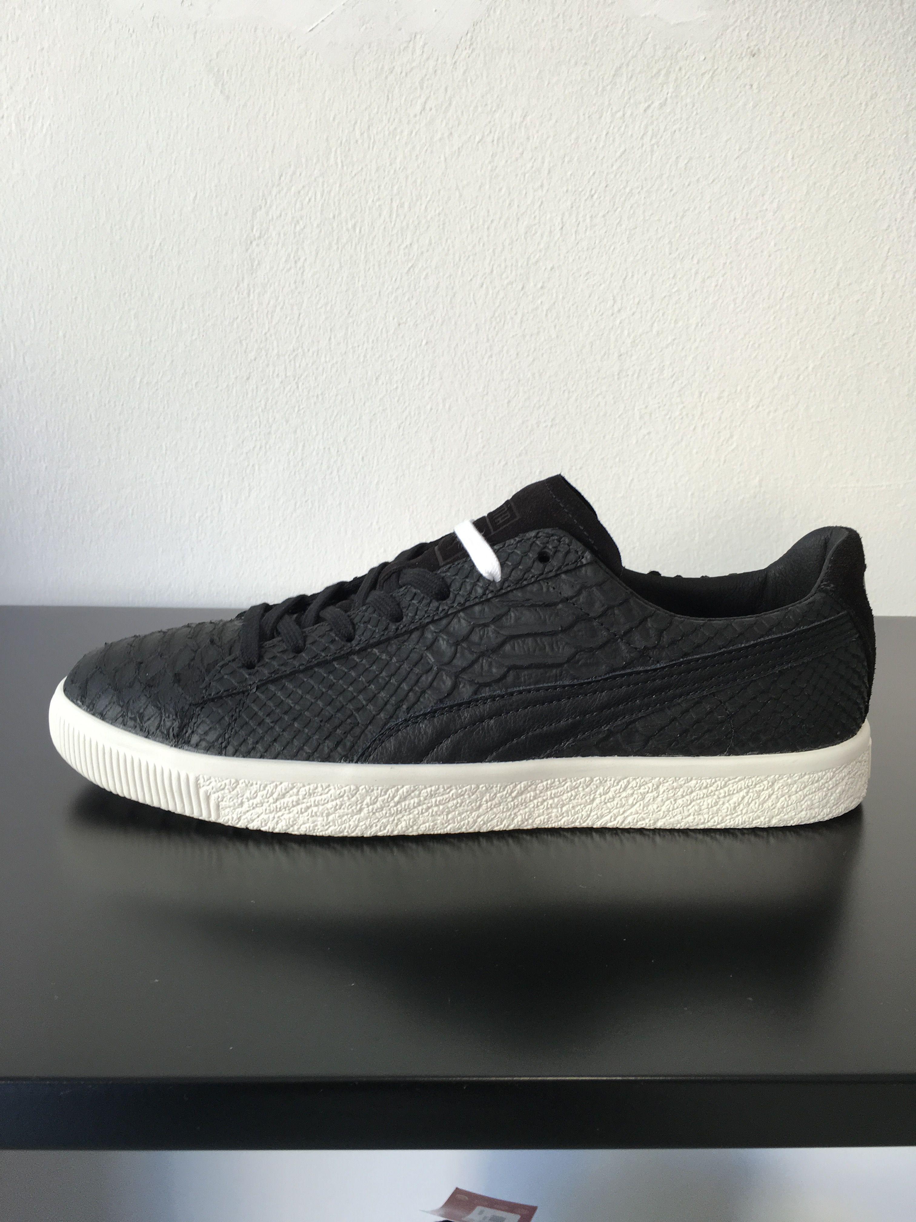 purchase cheap 29ba5 eca9c Puma clyde mii leather black | want list | Puma suede ...