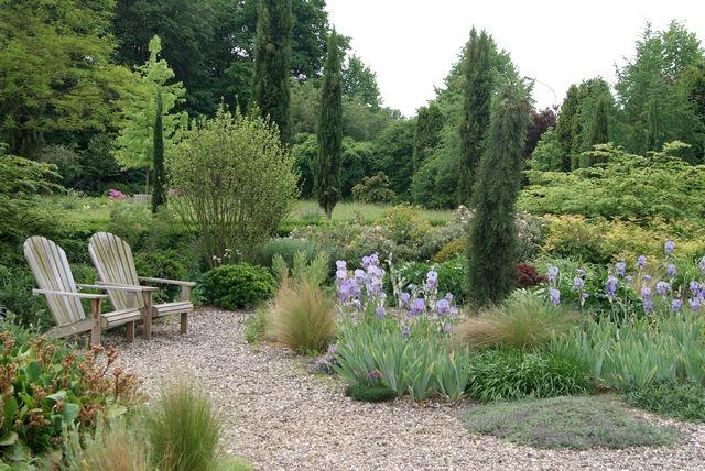 Ein Kies Und Schattengarten Tuin Gravel Garden Outdoor