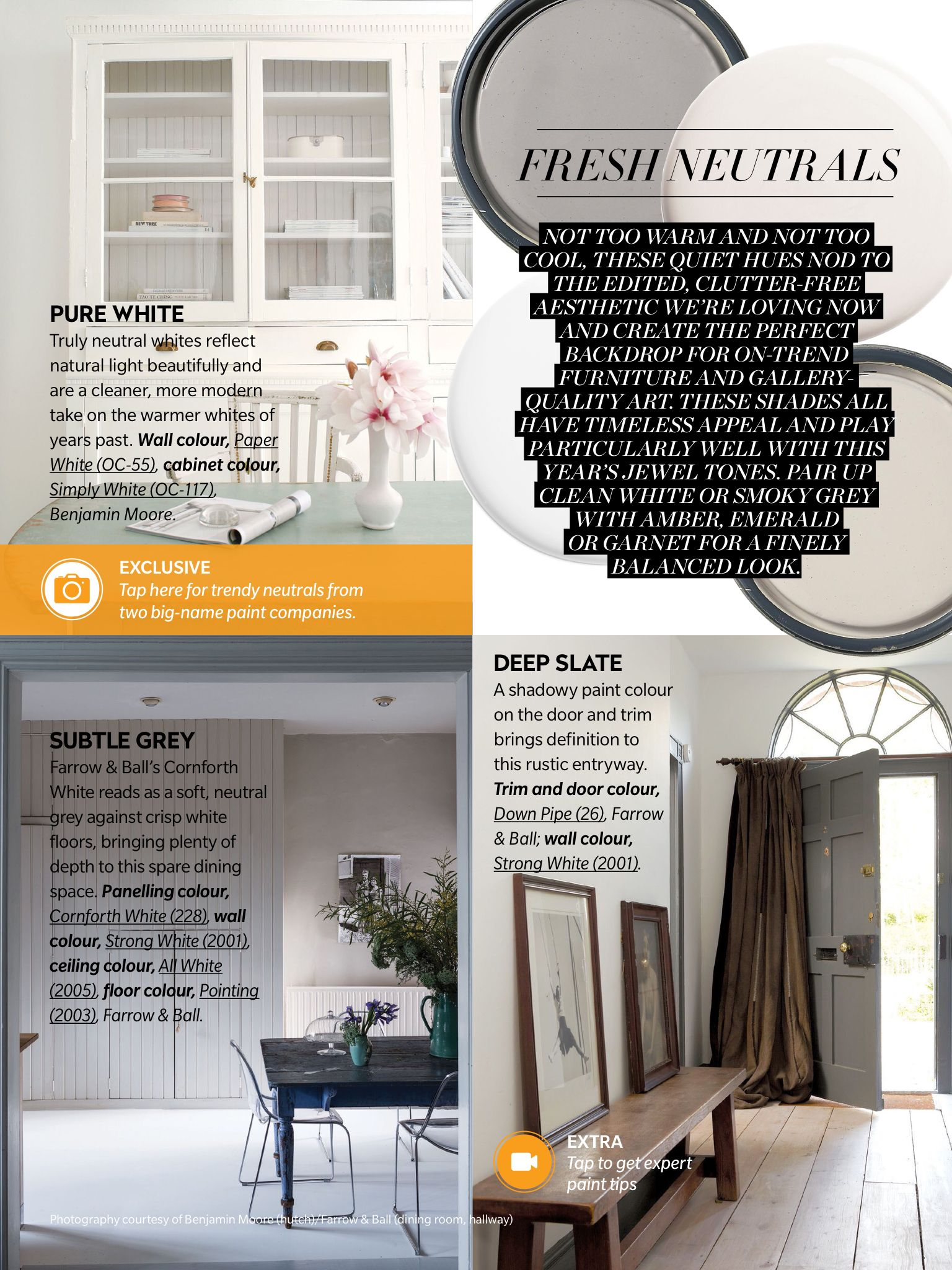 Paint Trends From House & Home Magazine, January 2016 Read