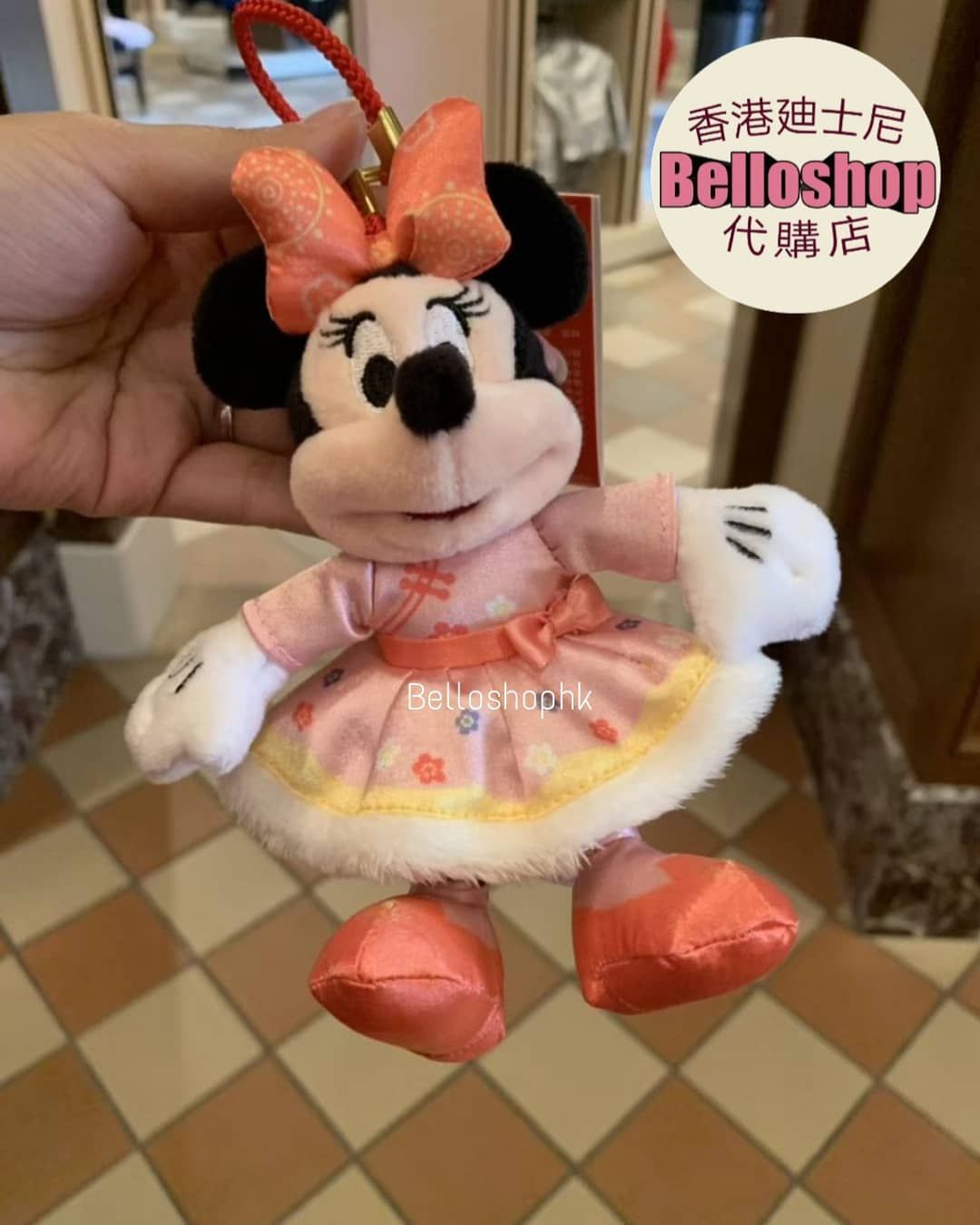 Minnie Chinese New Year 2019 Keychain Released At Shanghai Disney Resort 02 01 2019 Disney Shanghai Shanghai Disney Resort Disney