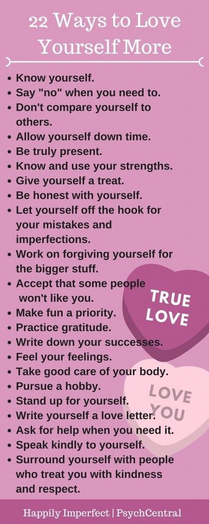 22 Ways to Love Yourself More by Sharon Martin, LCSW
