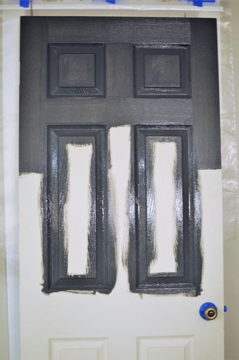 How to Paint a Panel Door Perfectly in Under an Hour - Joyful Derivatives