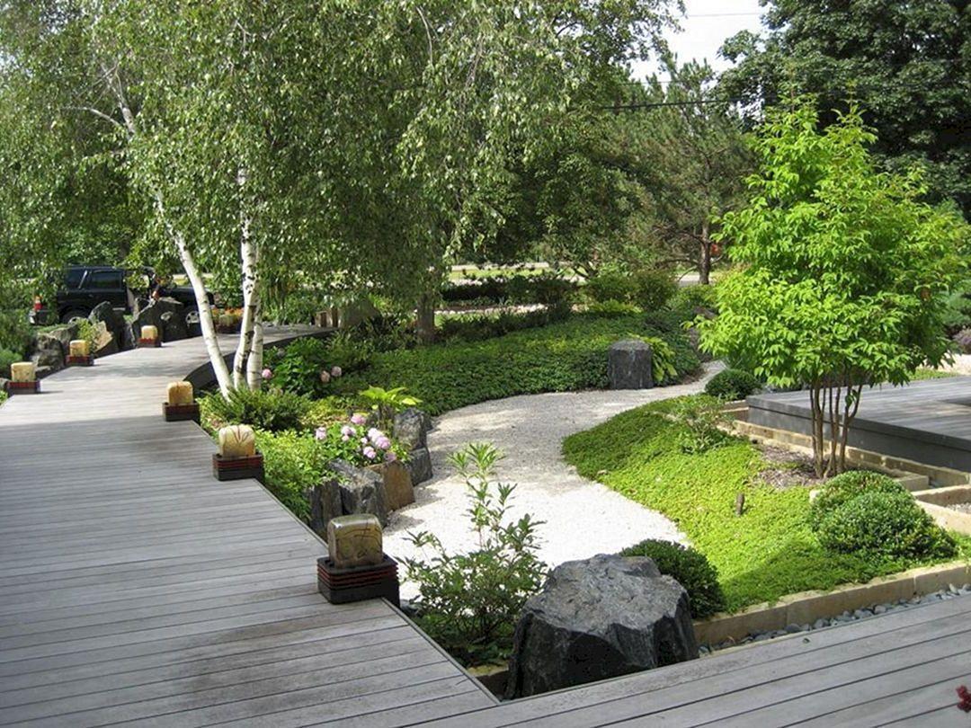 76 beautiful zen garden ideas for backyard 350   pinterest   garden