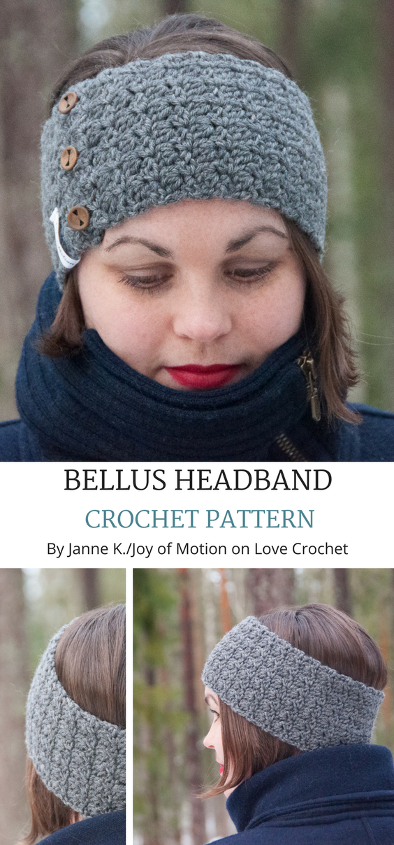 The Bellus Headband Sewing Projects Pinterest Crochet Crochet