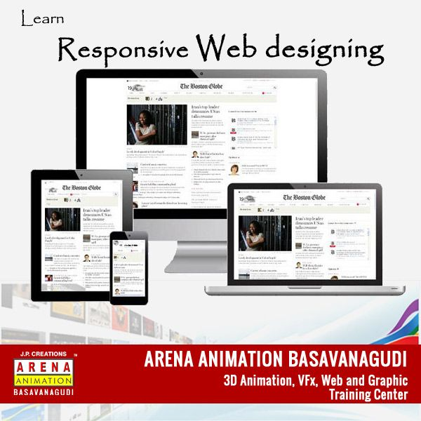 Learn Responsive Web Designing Http Bit Ly Arena Register Enroll Today Web Design Responsive Web Responsive Web Design