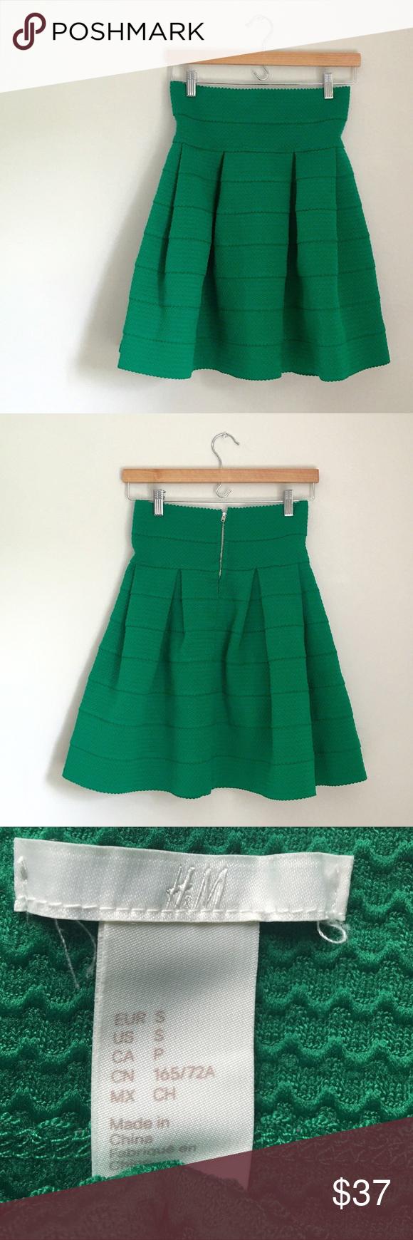 5f53c115b ⏰Sale⏰H&M Elastic Skirt RARE!!! H&M High Waisted Elastic Skirt ...