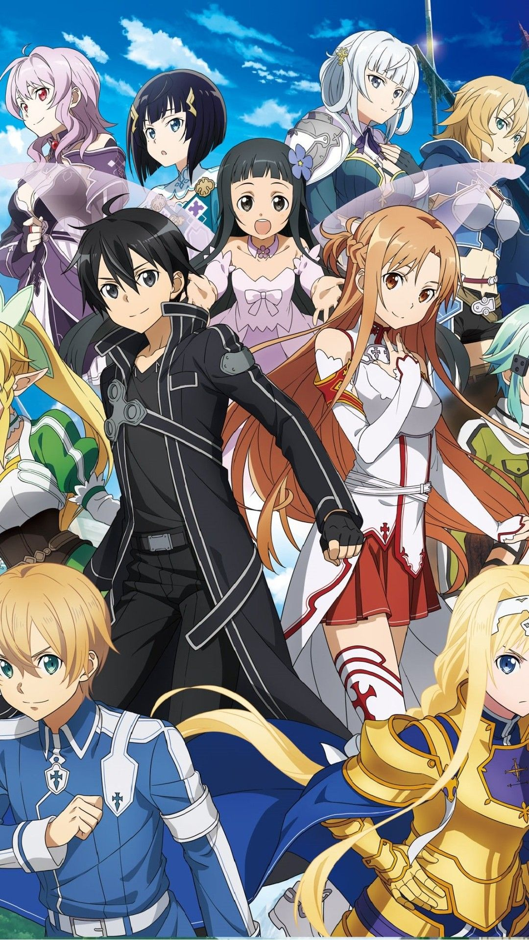 Wallpaper Phone Sword Art Online Full HD Zueira anime