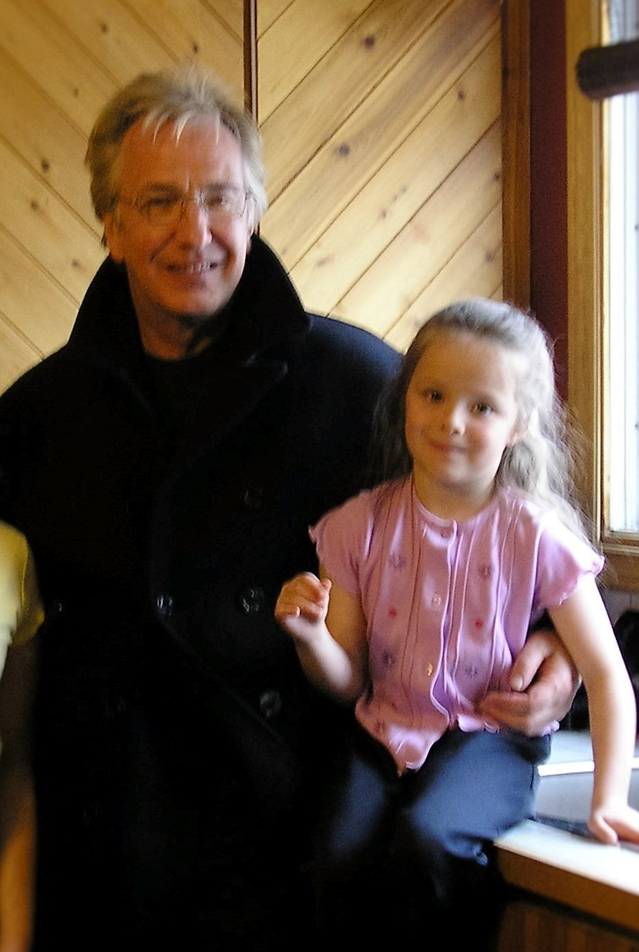 In Late 2005, when I was about 6 or 7 years old, Snow Cake was being filmed in…