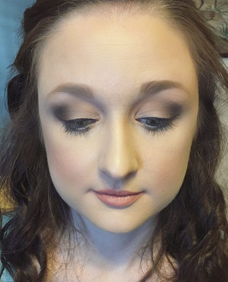 MUA Diandra Leigh Dente Arehereyelashesreal Blending Eyeshadow Eye Makeup