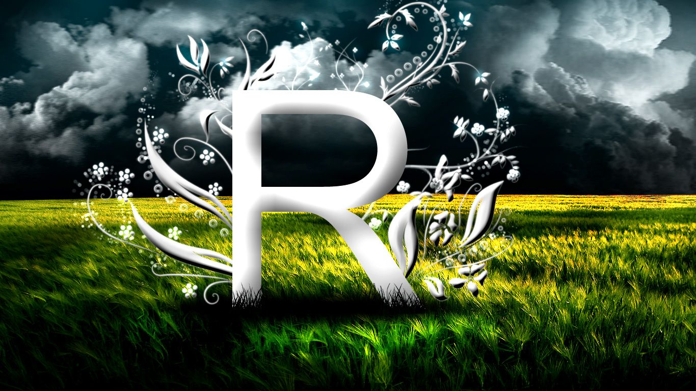 Stylish R Letter Wallpapers Backgrounds