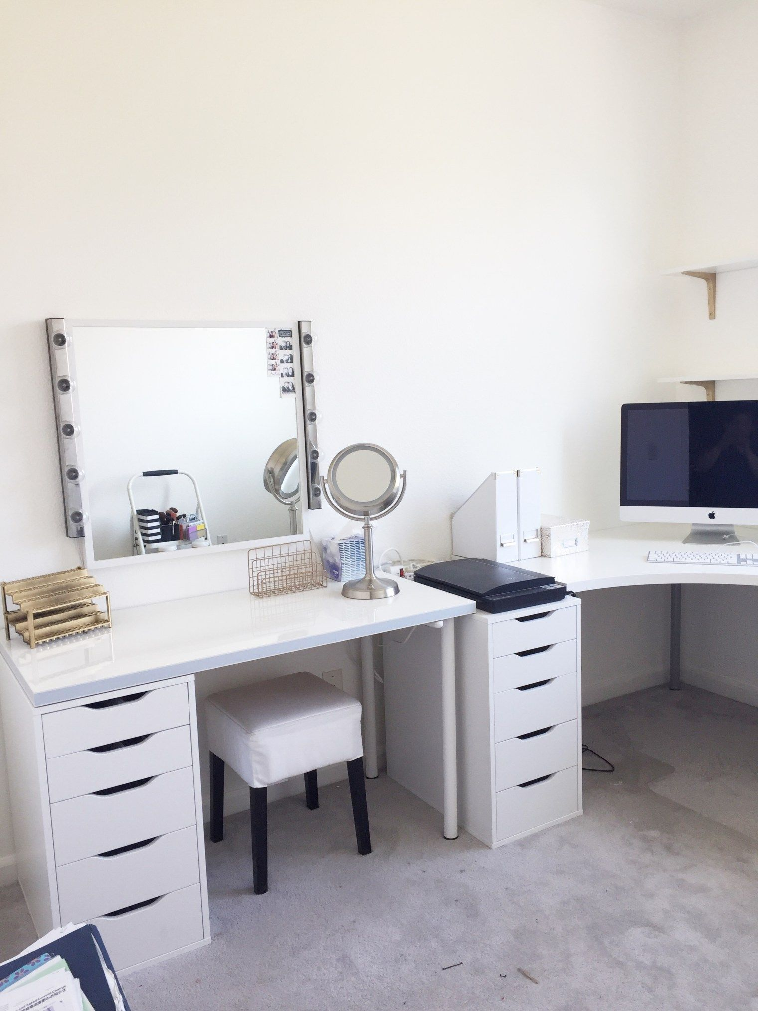 Ikea Us Furniture And Home Furnishings Diy Vanity Mirror Diy Makeup Vanity Diy Vanity