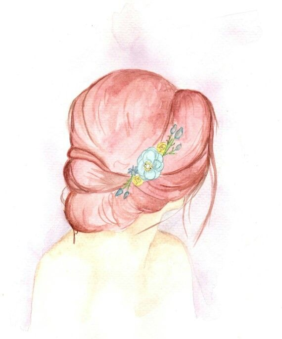 Woman with a Flower Headband Watercolor Painting by @thehappyyogishop  Such a beautiful, original watercolor painting! Shop owner Sadara is an artist and artist teacher in love with all things natural.  Lots of beautiful subjects in her shop to choose from, we loved it ALL!  thehappyyogi.etsy.com