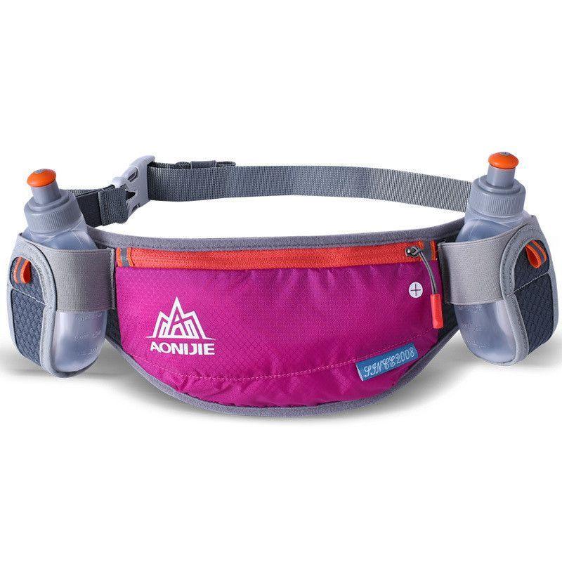 Brand AONIJIE Men Women Waist Pack Outdoor Sports Cycling Fanny Pack Travel Marathon Running Hydration Belt Bottle Bag