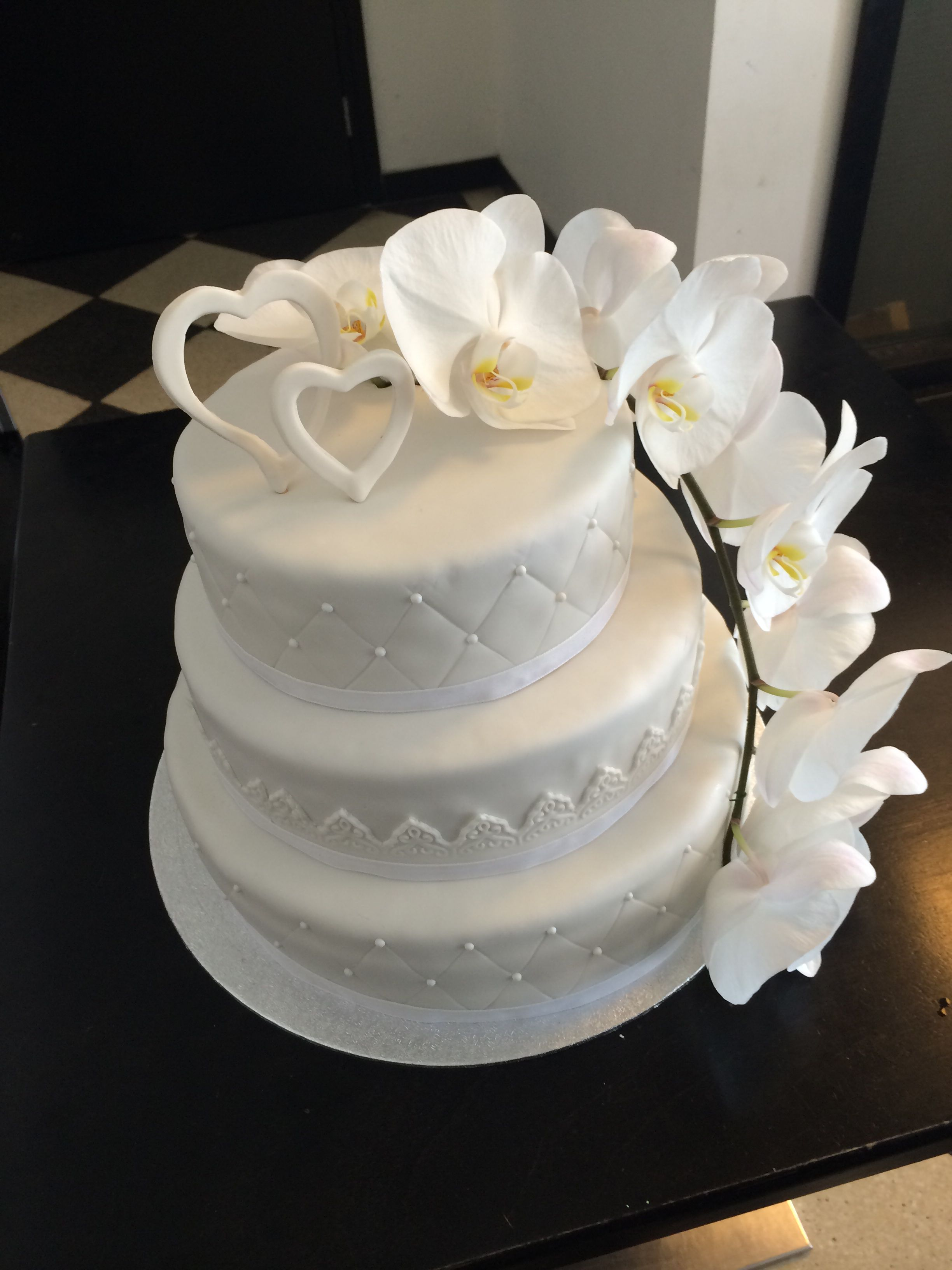 Wedding cake#madebyme