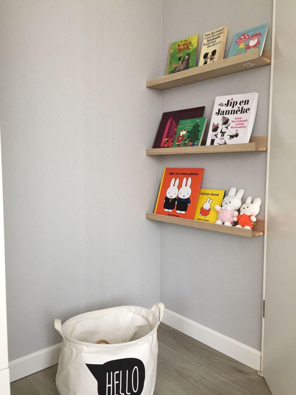 Ongekend Babykamer inspiratie / loze ruimte achter de deur / boekenplank XD-11