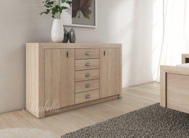 Commode Charlize is een praktisch dressoir en geschikt als ladekast ...