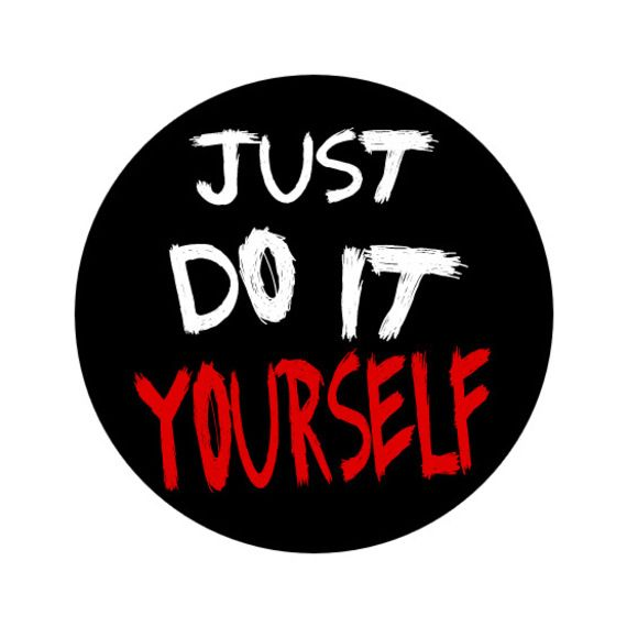 Badge rond slogan just do it yourself trucs a faire diy articles similaires badge rond slogan just do it yourself sur etsy solutioingenieria Image collections
