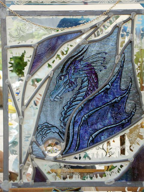 stained glass dragon | Flickr - Photo Sharing!