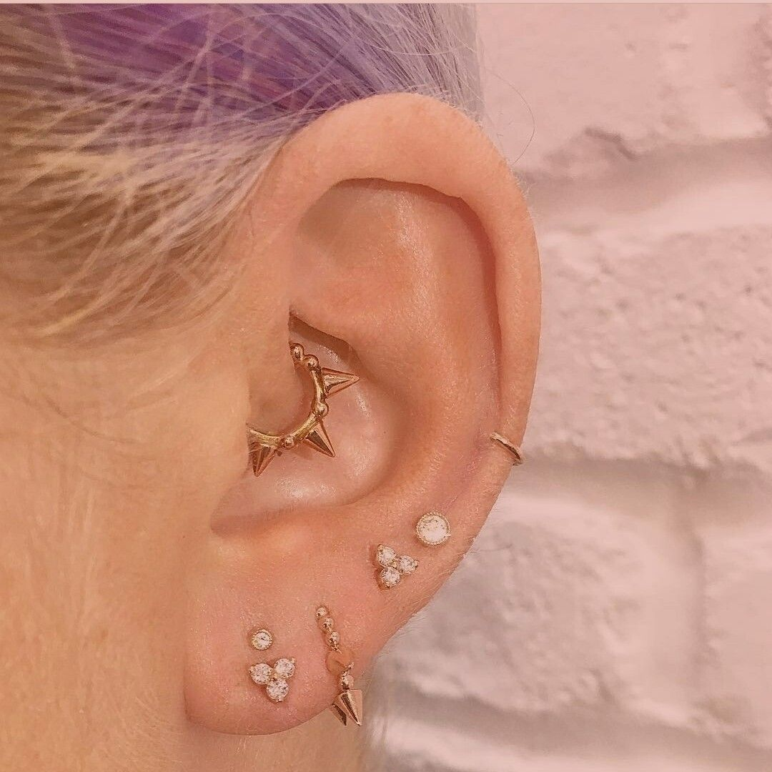 Closed nose piercing  Pin by Amanda Williams on Ink inspiration  Pinterest  Piercings