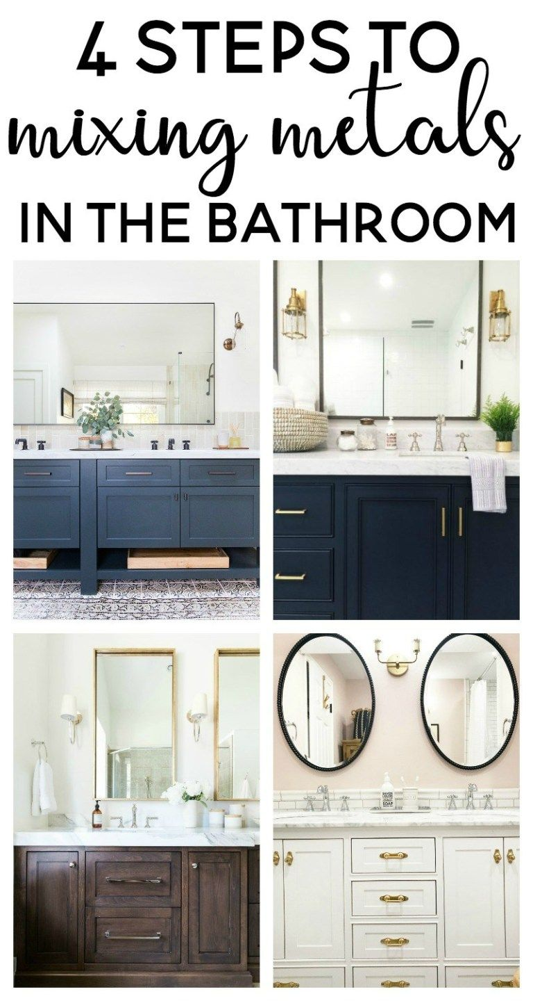 Photo of Mixing metals in the bathroom – joy and beautiful things