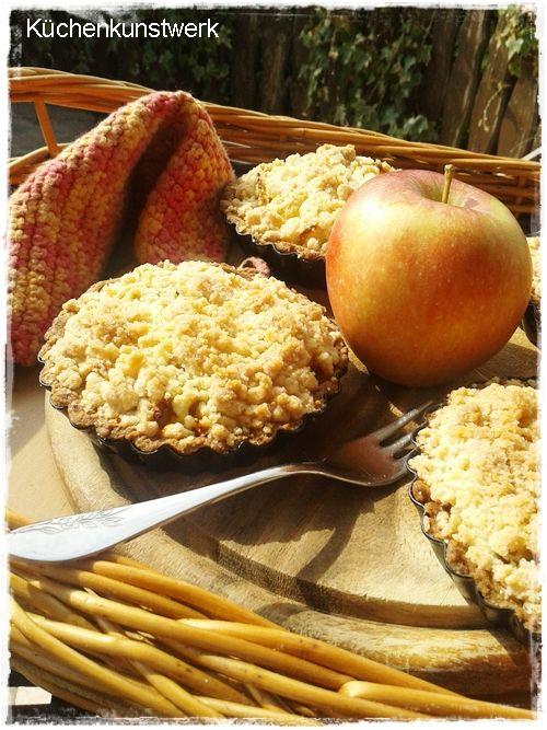 Kuchenkunstwerk Apfel Crumble Kuchen Ohne Ei Rezept