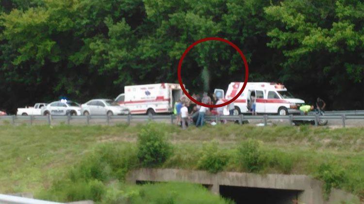 EE.UU.: Fotografían el 'espíritu' de un motorista abandonando su cuerpo tras un accidente fatal - RT