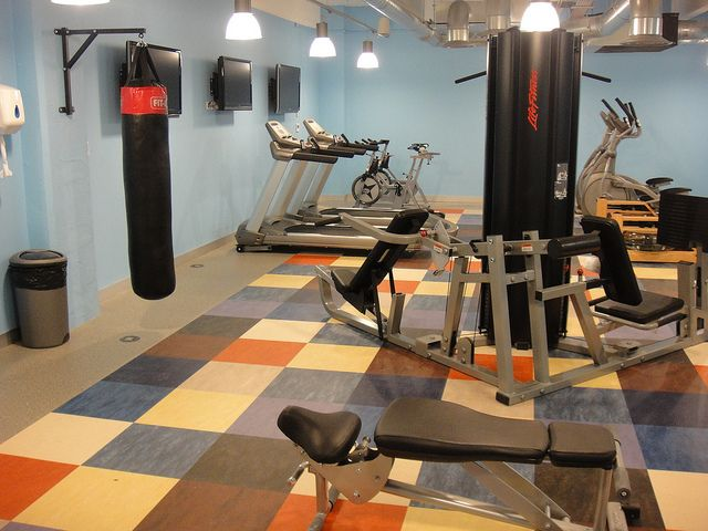 Office Gym With Punching Bag! Personal Trainer Optional