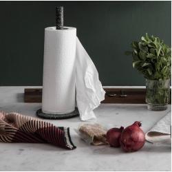 Küchenrollenhalter Wipe aus Eisen, schwarz House DoctorHouse Doctor