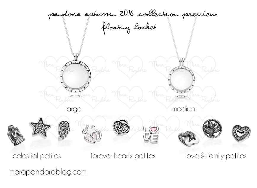 fb290f32658 Floating Lockets and Petites. Pandora Autumn 2016 Floating Locket