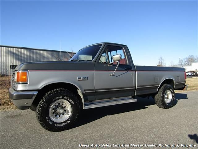 Used 1991 Ford F 150 Xlt Lariat 4x4 Rust Free Regular Cab Long Bed