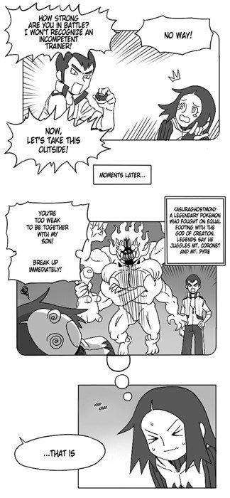 dating een team magma grunt (Pokemon) Engels aansluiting kussen je afscheid