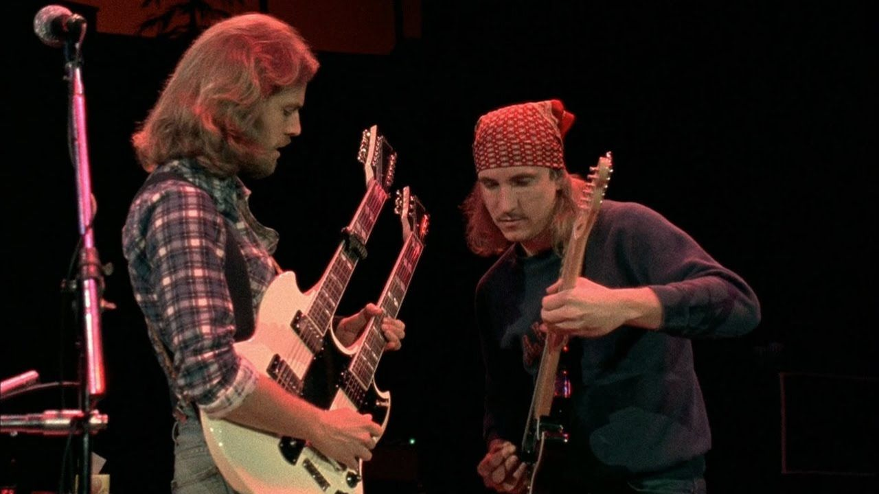 Don Felder Joe Walsh With Images Eagles Hotel California