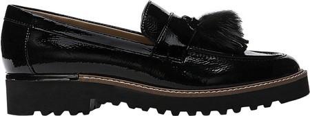46f0dc11320 Franco Sarto Carolynn Tassel Loafer - Black Patent Synthetic 5.5 ...