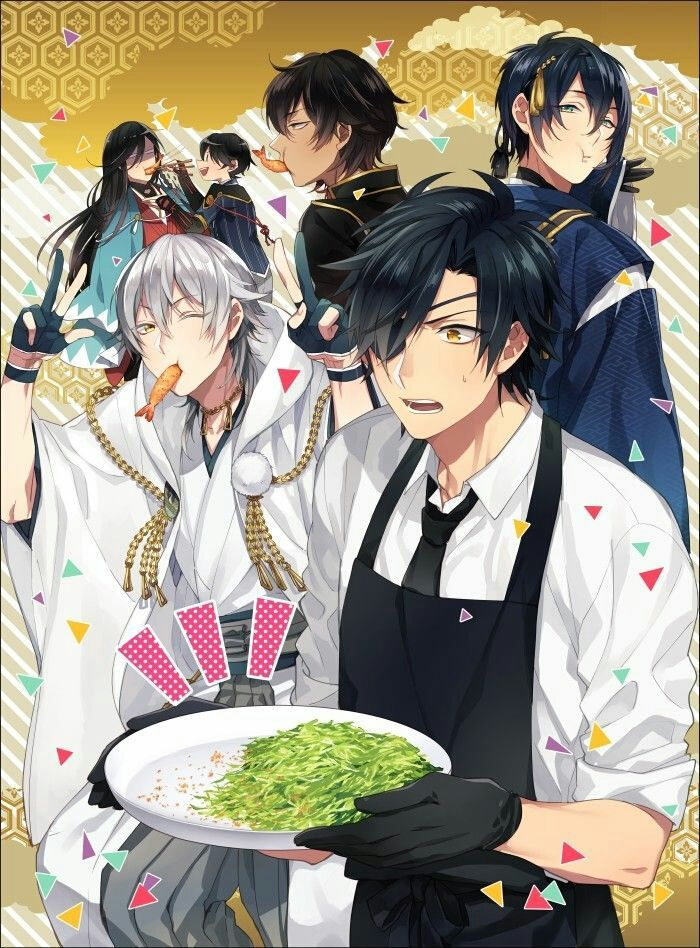 the secret of touken ranbu di 2020 Animasi, Anime anak