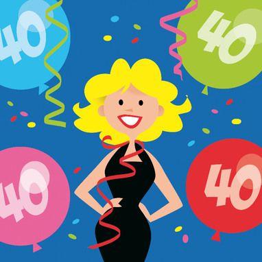 Kaart 40 Jaar Verjaardag.Afbeeldingsresultaat Voor Kaart 40 Jaar Vrouw