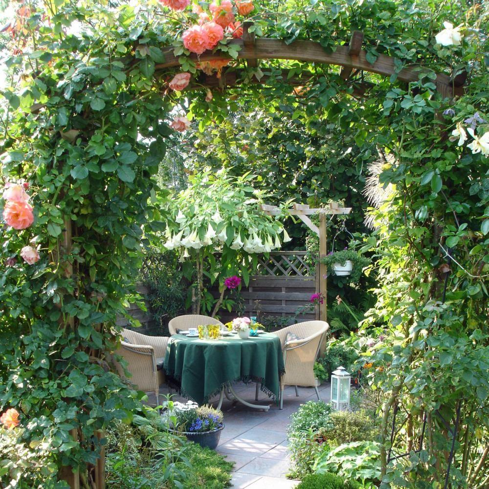 Gestaltungsideen Fur Kleine Garten Gartengestaltung Bepflanzung Garten Und Outdoor