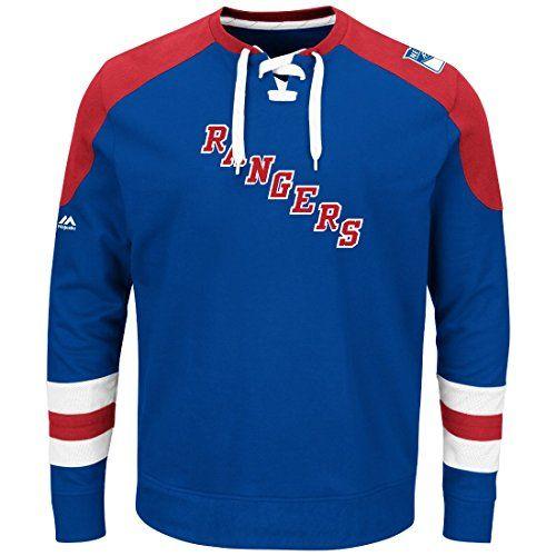 ... amazon majestic mens new york rangers centre long sleeve jersey shirt  sports fan shop by lids 0e4984cff