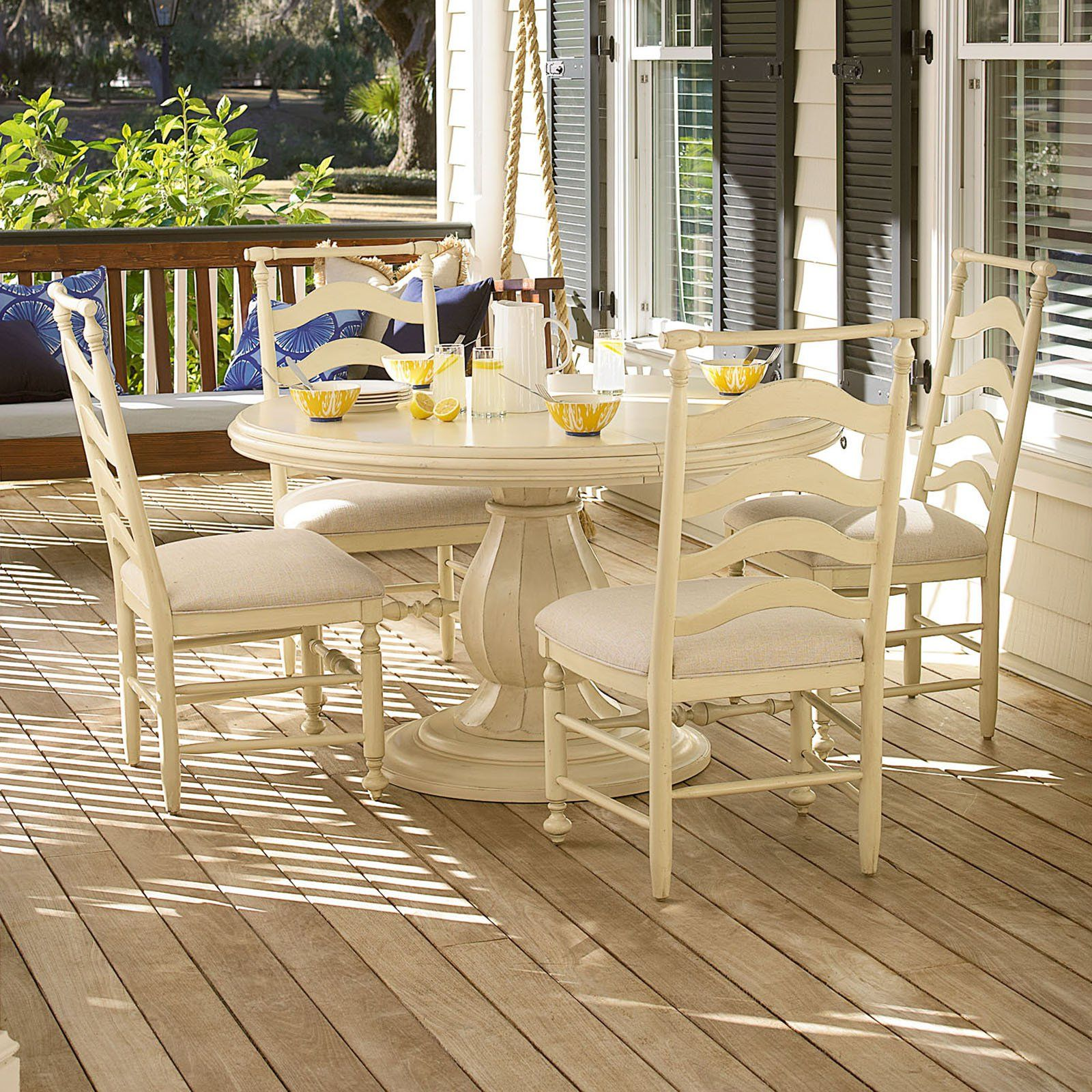 paula deen river house 5 piece round dining table set - river boat, Esstisch ideennn