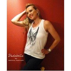 Regata Cruz Única.  Mais uma novidade da coleção verão Dudabella com assinatura Bettina Martinelli
