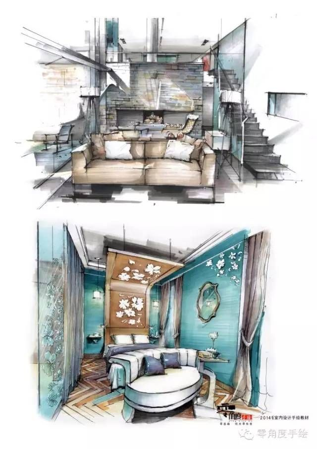 Pin de en drawing pinterest perspectiva for Bocetos de disenos de interiores