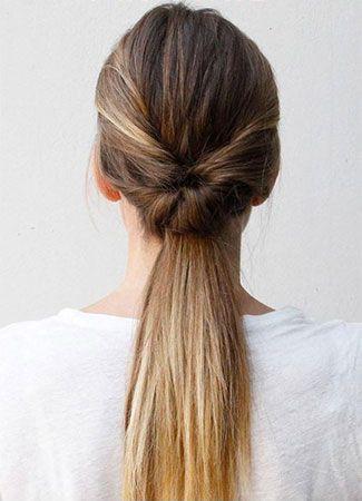 Cinco peinados fáciles para salir de la monotonía