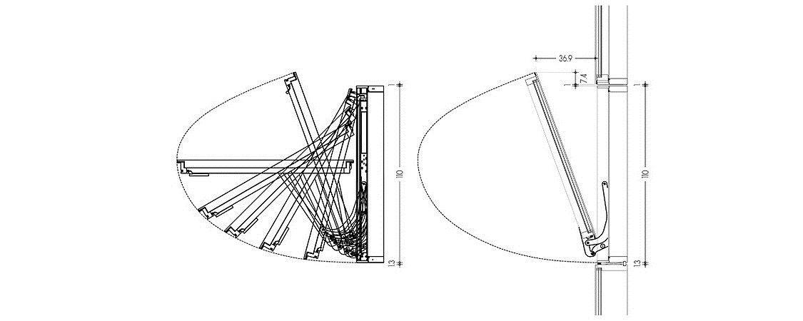 Système spin en aluminium Système Spin by OTIIMA